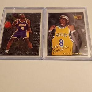 Kobe Bryant Draft and Rookie cards